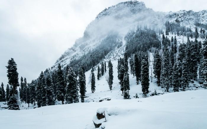 Betrayed by weather in Lidderwat, Kashmir
